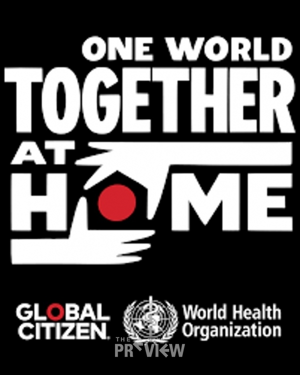 One world : Together at Home( 출처 : Globalcitizen.com)